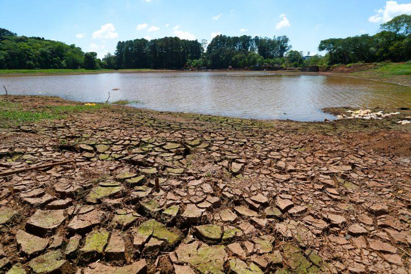 A falta de chuva pode comprometer o abastecimento de água em alguns municípios – Foto: Secom/Divulgação/ND