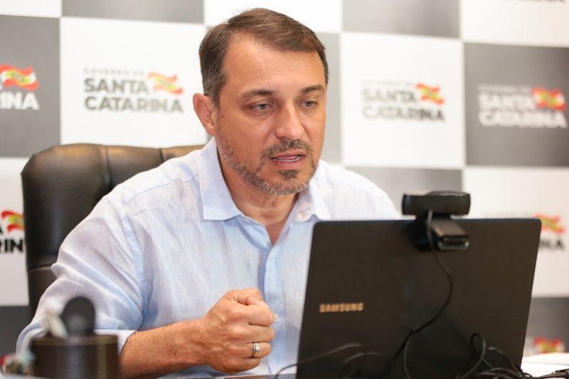 Impeachment de Moisés na compra dos respiradores será julgado dia 14 de dezembro – Foto: Mauricio Vieira/Secom/Divulgação/ND
