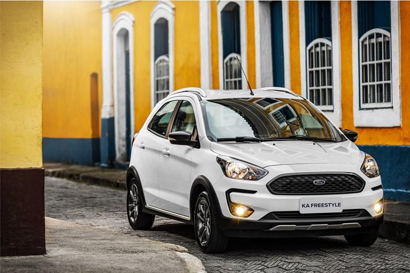 7- Ford Ka: 7.492 unidades - Foto: Divulgação/Ford/Garagem 360/ND