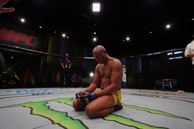 A última imagem de um campeão – Foto: Dan