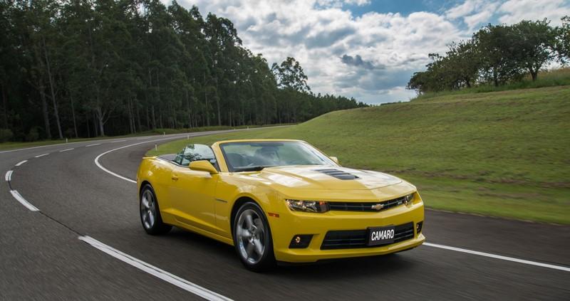 Chevrolet Camaro SS 2014 - Foto: Divulgação/Chevrolet/Garagem 360/ND