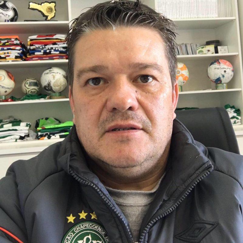 Chinho Di Domenico: Emersson Fabio Di Domenico, de 45 anos, era supervisor de futebol – Foto: Arquivo Pessoal