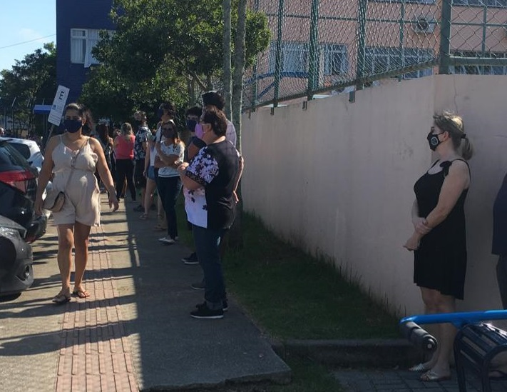 Colégio Brigadeiro Eduardo Gomes – Florianópolis – Foto: Vanessa da Rocha/NDTV