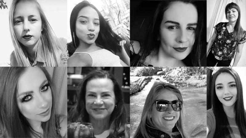 mulheres vítimas de feminicídio em Santa Catarina