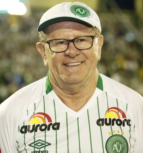 Edir Félix De Marco: tinha 67 anos e era presidente do Conselho consultivo do clube. Também foi ex-presidente da Chapecoense. – Foto: Arquivo Pessoal