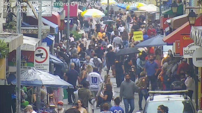 Centro e Ingleses lideram em casos ativos de Covid-19 em Florianópolis – Foto: Reprodução/SSP