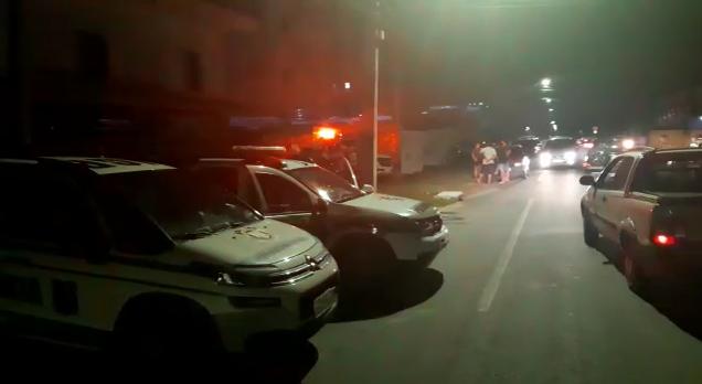 Mulher foi assassinada a facadas pelo companheiro no bairro Vila Nova – Foto: Reprodução/NDTV