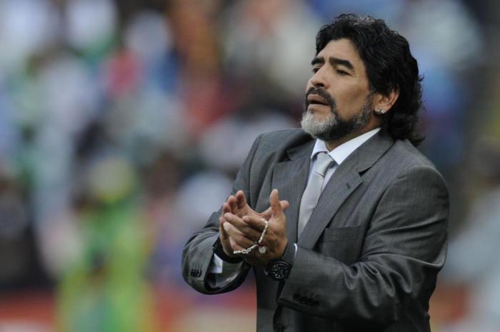 Maradona, Argentina, – Foto: Reprodução/Figueirense/ND
