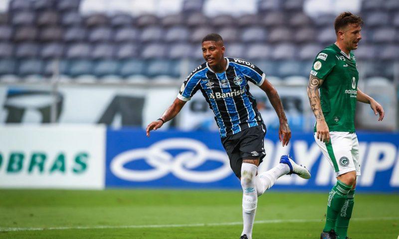 Grêmio vence Goiás na Arena – Foto: Lucas Uebel/Grêmio FBPA/Divulgação/ND