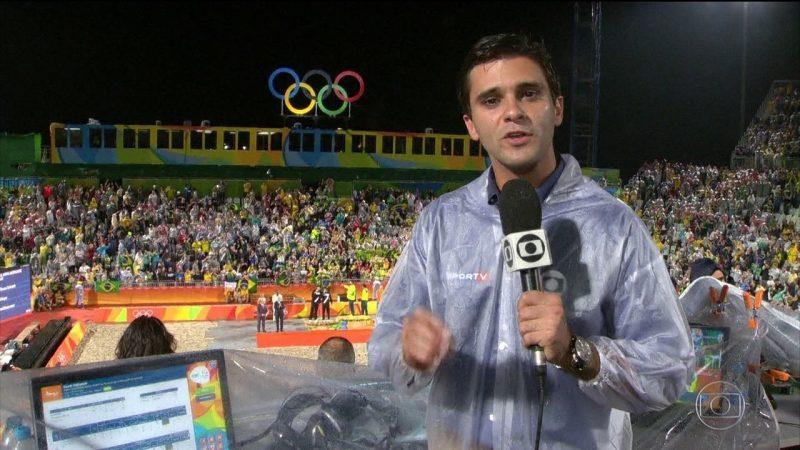 Guilherme Marques: Guilherme Senges Coutinho Marques tinha 28 anos era repórter da TV Globo. – Foto: Reprodução/Rede Globo