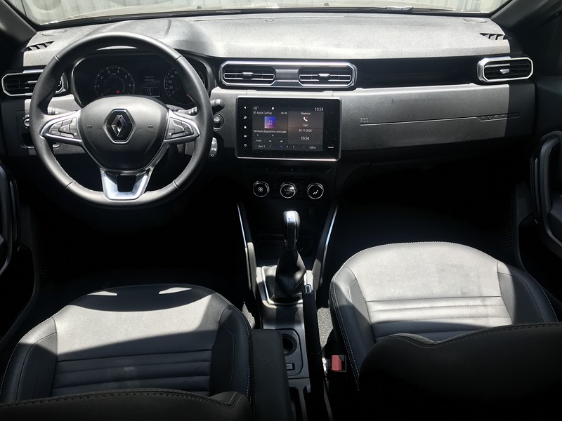 Os detalhes da versão mais completa do Renault Duster - Foto: Leo Alves/Garagem360/Garagem 360/ND