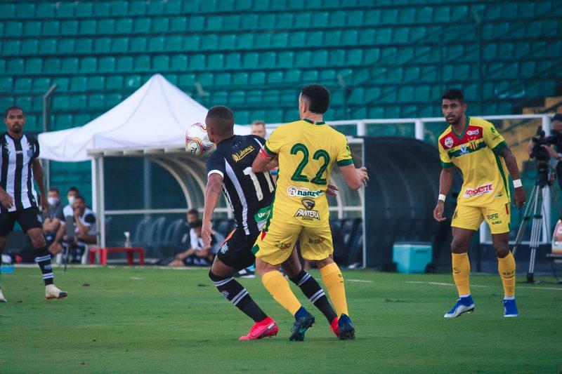 Figueirense perde para o Sampaio Corrêa na estreia do Jorginho no Scarpelli – Foto: Patrick Floriani/FFC