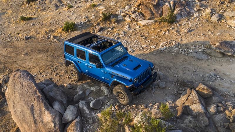 Jeep Wrangler Rubicon 392 - Foto: Divulgação/FCA/Garagem 360/ND