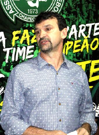 Jandir Bordignon: tinha 54 anos e era vice-presidente de marketing e patrimônio da Chapecoense. – Foto: Arquivo Pessoal