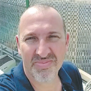 Jumelo Pereira: Lilacio Pereira Jr. tinha 48 anos e era coordenador de transmissões externas da Fox Sports. Natural de São Paulo ele também atuava como cinegrafista. – Foto: Arquivo Pessoal