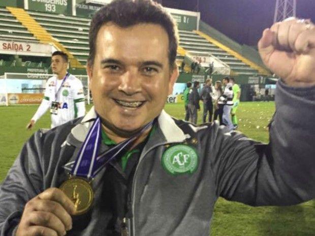 Marcio Koury: o médico de 45 anos fazia parte da equipe técnica da Chapecoense – Foto: Arquivo Pessoal