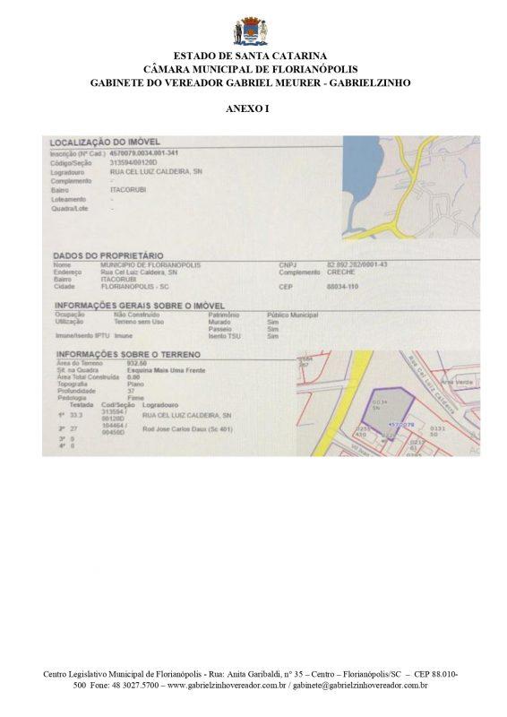 Documento confirma que terreno pertence a prefeitura – Foto: Reprodução