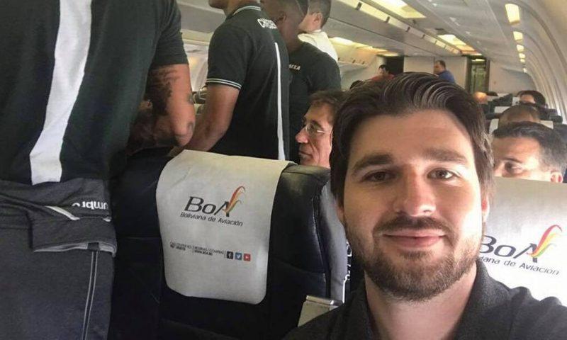 Renan Agnolin: tinha 27 anos e era repórter da RIC TV. Ele também era repórter de campo da rádio Oeste Capital. – Foto: Arquivo Pessoal