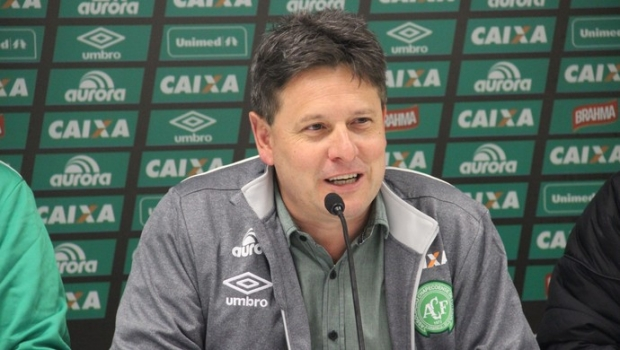 Sandro Luiz Pallaoro: natural de Pato Branco (PR), tinha 53 anos. Foi presidente da Chapecoense de 2011 a 2016. É reconhecido por ter conduzido o time da Série D até competições internacionais. – Foto: Reprodução/Chapecoense