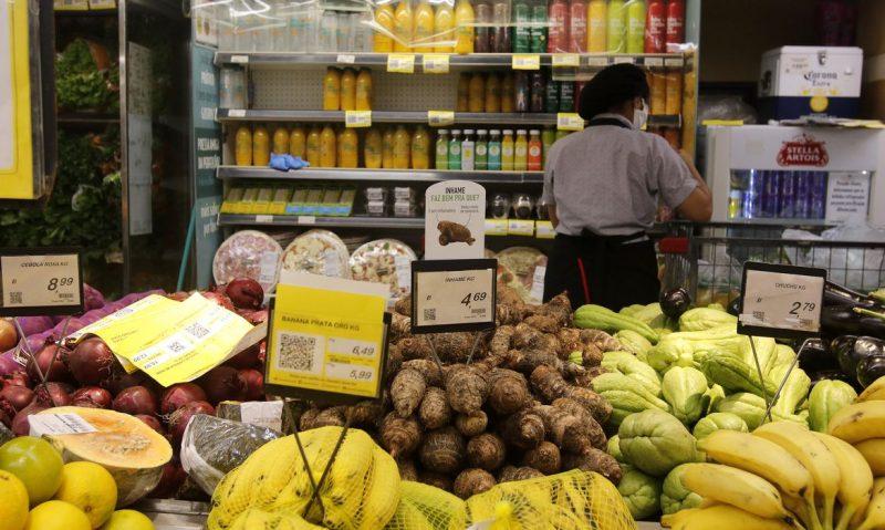 Alteração no decreto muda regras para supermercados em Santa Catarina – Foto: Tânia Rêgo/Agência Brasil/ND