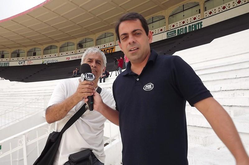 Victorino Chermont: Victorino de Albuquerque e Sá Chermont de Miranda, de 43 anos, era jornalista e repórter esportivo da Fox Esportes. Também trabalhou na Rádio Globo e SporTV. – Foto: Arquivo Pessoal