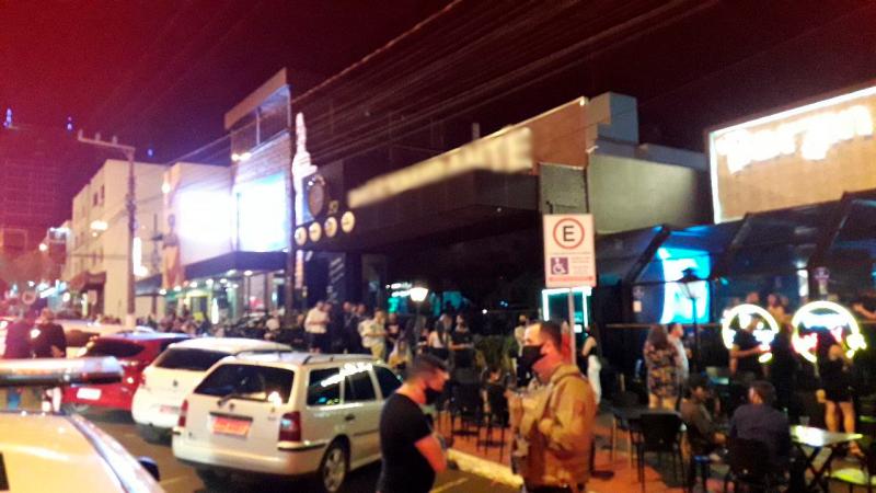 Polícia Militar auxiliou em fiscalizações. – Foto: Polícia Militar/Divulgação