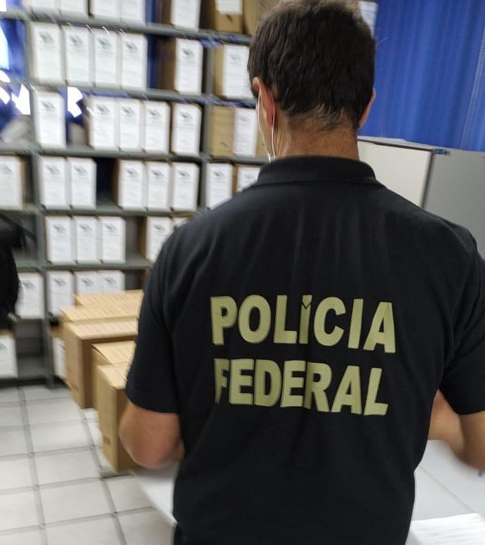 Mandados de busca e apreensão foram cumpridos em Sombrio e Turvo – Foto: Polícia Federal/Divulgação