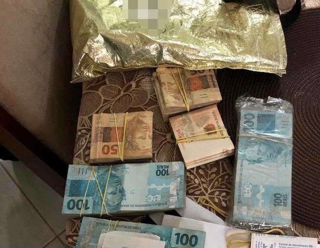 Polícia Federal apreendeu cerca de R$ 50 mil em Sombrio – Foto: Polícia Federal/Divulgação