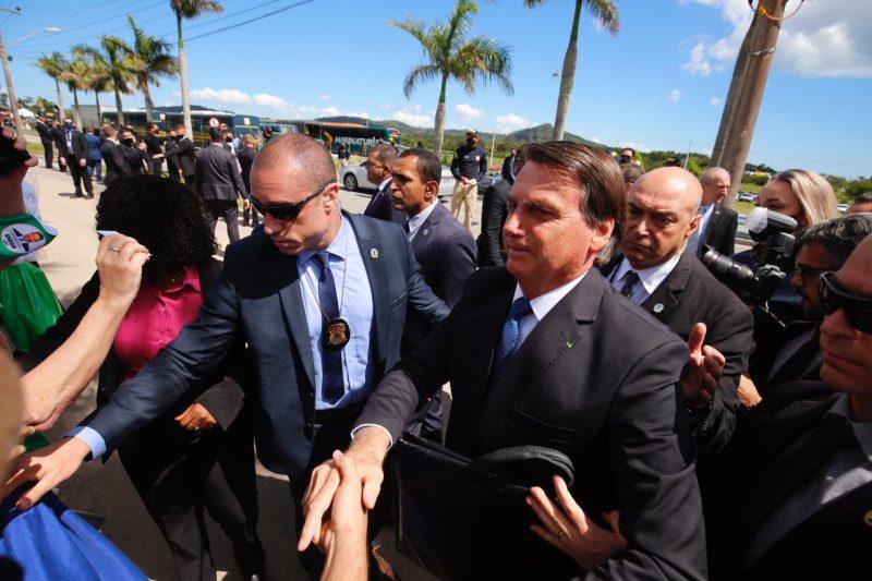 Jair Bolsonaro (sem partido) visita Chapecó nesta semana – Foto: Anderson Coelho/ND