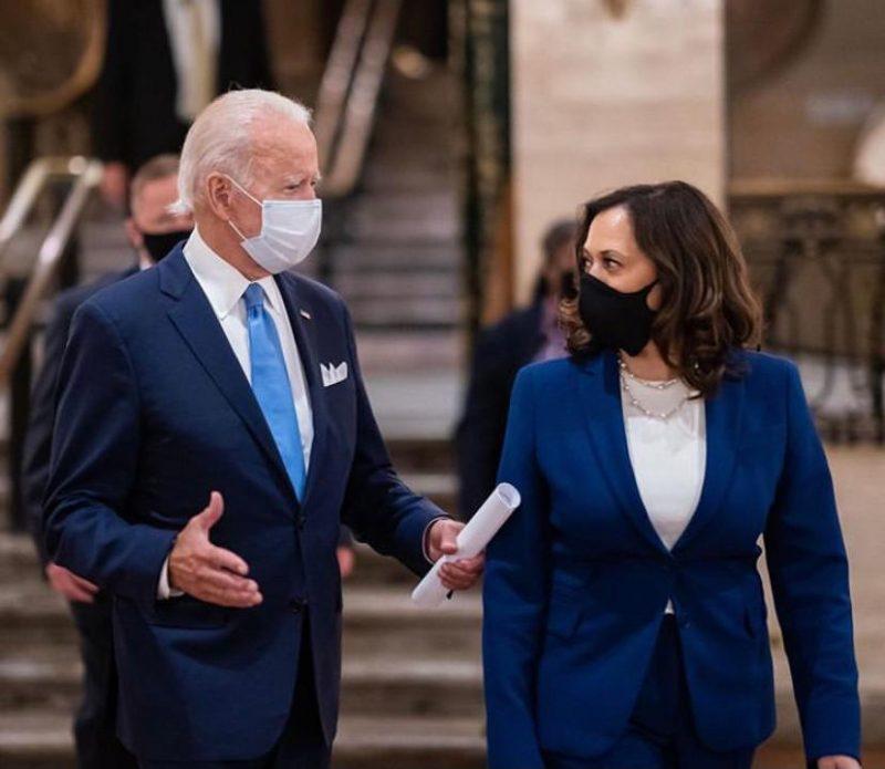 Joe Biden e Kamala Harris são eleitos nos EUA – Foto: Instagram/Reprodução