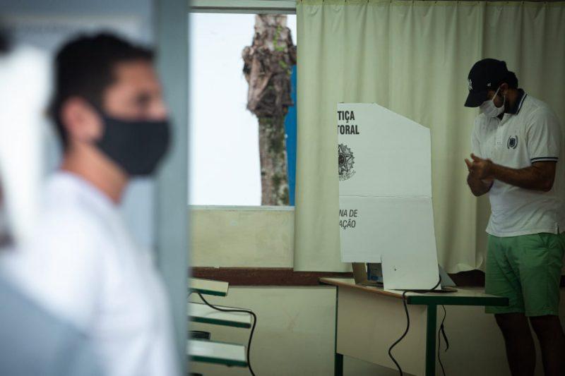Eleitores de Joinville e Blumenau voltam às urnas nesse domingo – Foto: Felipe Carneiro Especial para o ND