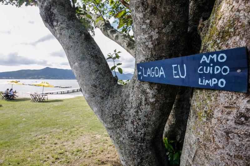 Revitalização, Avenida das Rendeiras, Lagoa da Conceição, Florianópolis – Foto: Anderson Coelho/ND