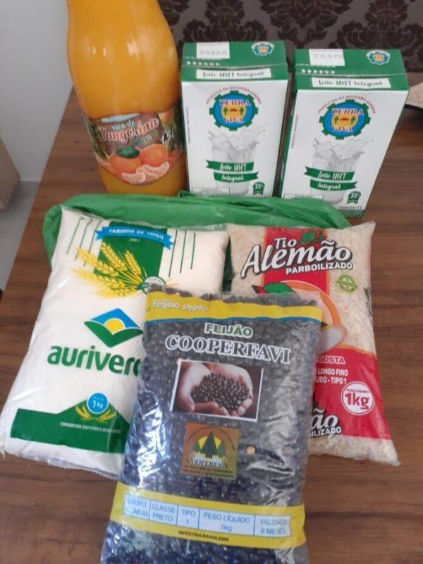Cesta básica, kit alimentação, Alimentação, – Foto: Divulgação/ND