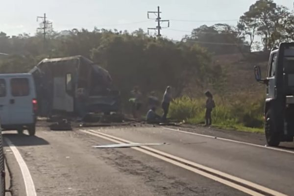 Empresa de ônibus envolvida em acidente em SP roda ilegalmente – Foto: Reprodução/Metrópoles/ND
