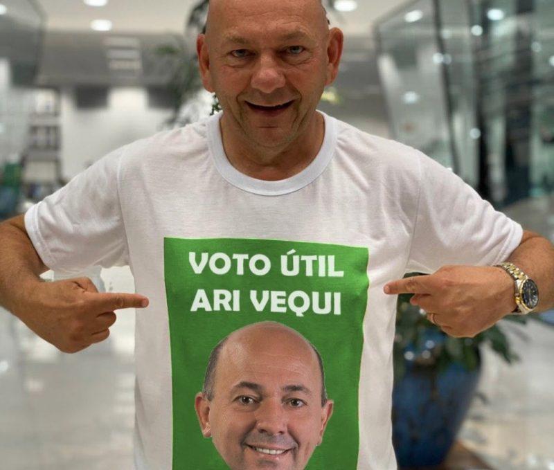 Candidato apoiado por Luciano Hang é eleito prefeito de Brusque – Foto: Redes sociais/Reprodução/ND