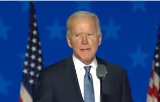 Em carta a presidente Jair Bolsonaro, Joe Biden, presidente dos Estados Unidos, Joe Biden, pede união de esforços dos dois países no combate à pandemia e do meio ambiente – Foto: Reprodução/Youtube