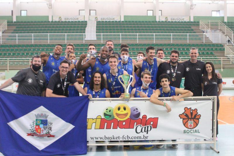 Blackstar conquistou o Campeonato Catarinense de Basquete nesse domingo – Foto: Divulgação/ND