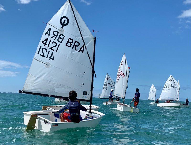 42º Campeonato Sul-americano foi realizado neste sábado, domingo e segunda-feira – dias 31, 1 e 2 – Foto: Iate Clube SC/Divulgação/ND