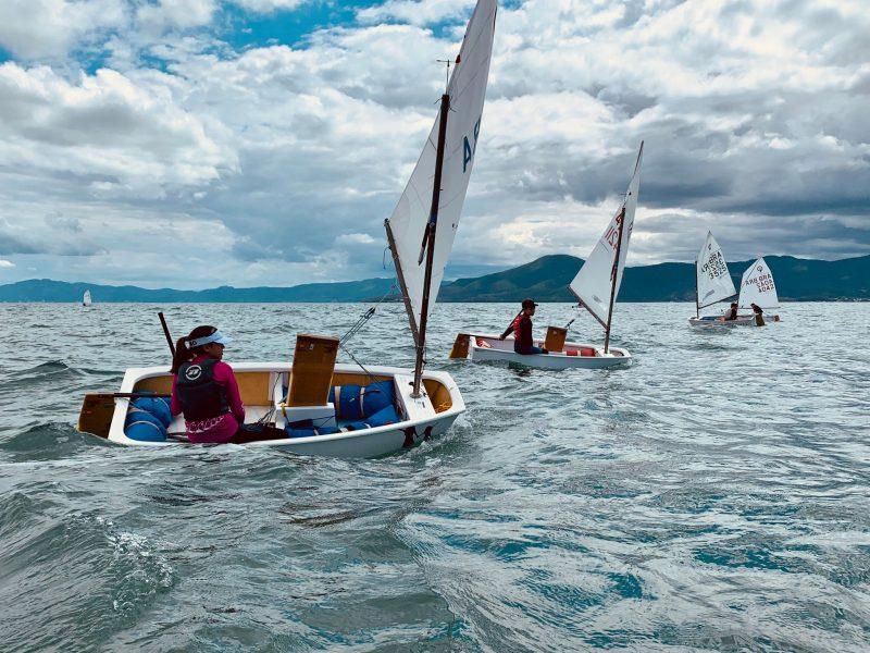 Competição seguiu protocolos sanitários – Foto: Iate Clube SC/Divulgação/ND