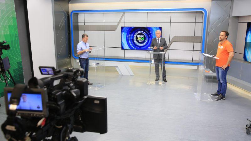Darci de Matos e Adriano Silva disputam o segundo turno em Joinville – Foto: Carlos Jr./NDTV