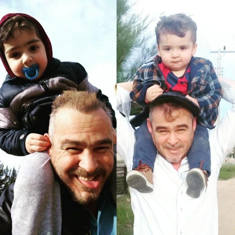 José Carlos e os netos