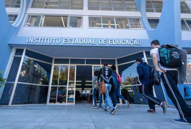 SED divulgou resultado do sorteio de vagas para escolas estaduais de Santa Catarina – Foto: Ricardo Wolffenbüttel / Secom/ND