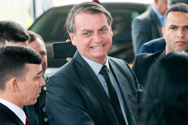 O Presidente Jair Bolsonaro não deve falar à Imprensa em Chapecó – Foto: Antonio Cruz/ Agência Brasil/ND