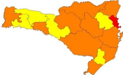Índice monitoramento – Foto: SES/Divulgação/ND