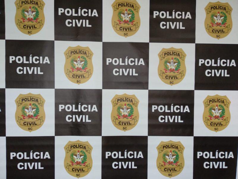 Suspeito de roubar e matar idosa é preso no Norte de SC. – Foto: Reprodução/Polícia Civil