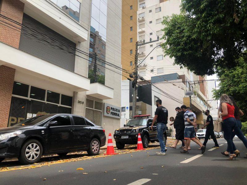 Atendimento na Delegacia de Polícia Federal de Chapecó segue suspenso até sexta-feira (28) – Foto: Willian Ricardo/ND