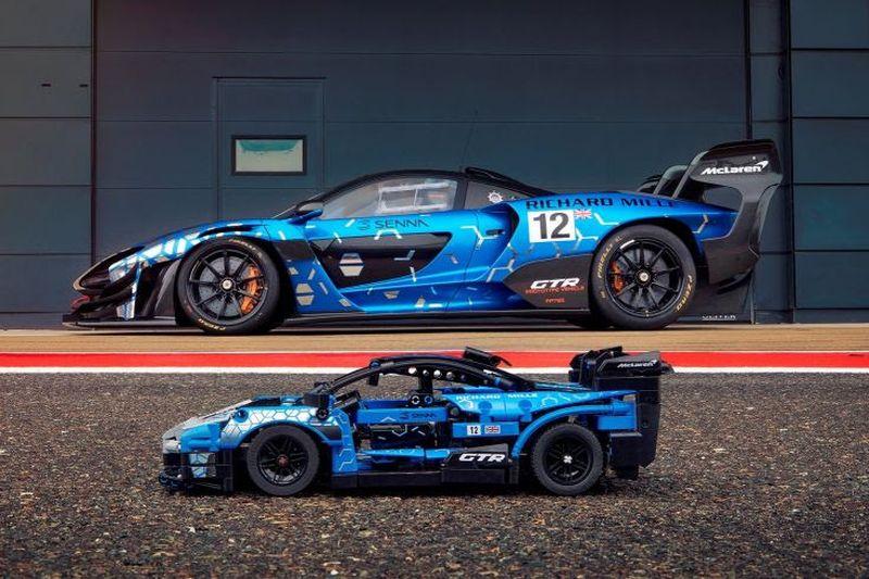 McLaren Senna GTR ganha versão em Lego - Foto: Divulgação/Lego