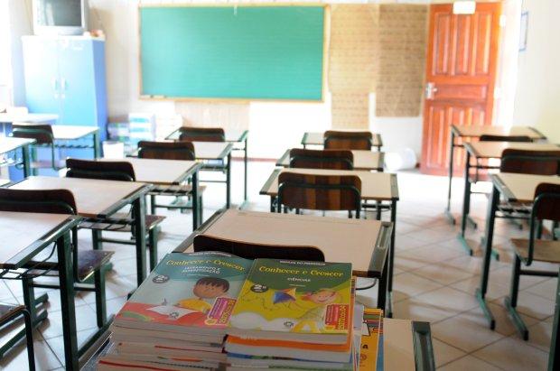 Após vistoria, três escolas de Florianópolis são intimadas a cumprir adequações sanitária e 19 das 22 escolas estavam cumprindo as medidas – Foto: Julio Cavalheiro/Secom/Divulgação/ND