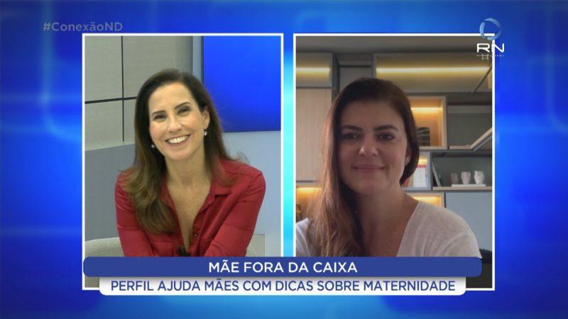 """Fonoaudióloga Thaís Vilarinho traz o perfil """"Mãe Fora da Caixa"""" que virou livro e peça teatral – Foto: Divulgação/NDTV"""