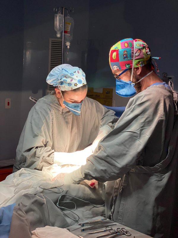 Trigêmeos nasceram após 31 semanas de gestação – Foto: Divulgação/SES/ND